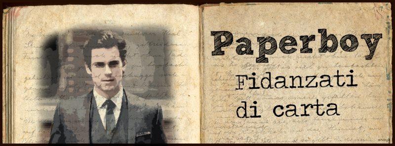 """L' idea dei  """"fidanzati di carta"""" è di Chiaraleggetroppo ( ed i suoi fidanzati sono reperibili al#Paperboy)"""