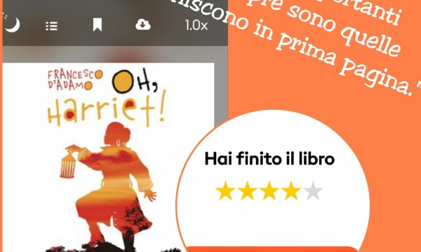 Francesco D'Adamo Oh, Harriet! (@Storytel_it )
